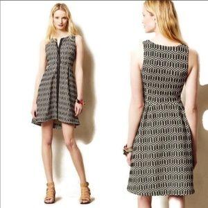 Leifsdottir Tonelle  Zipper Fit & Flare Dress
